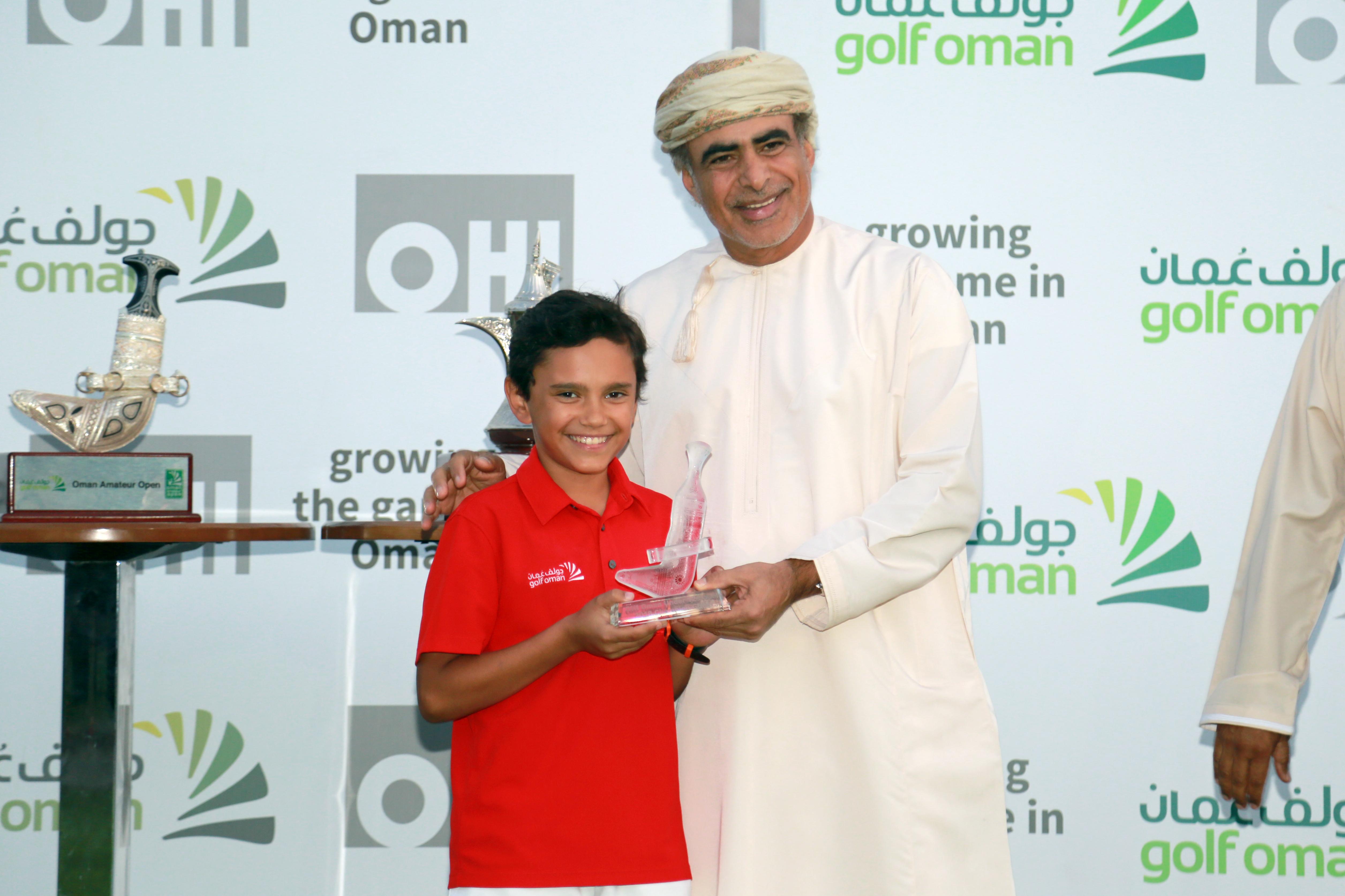 Golf: Nasser retains OHI Oman Amateur Open title