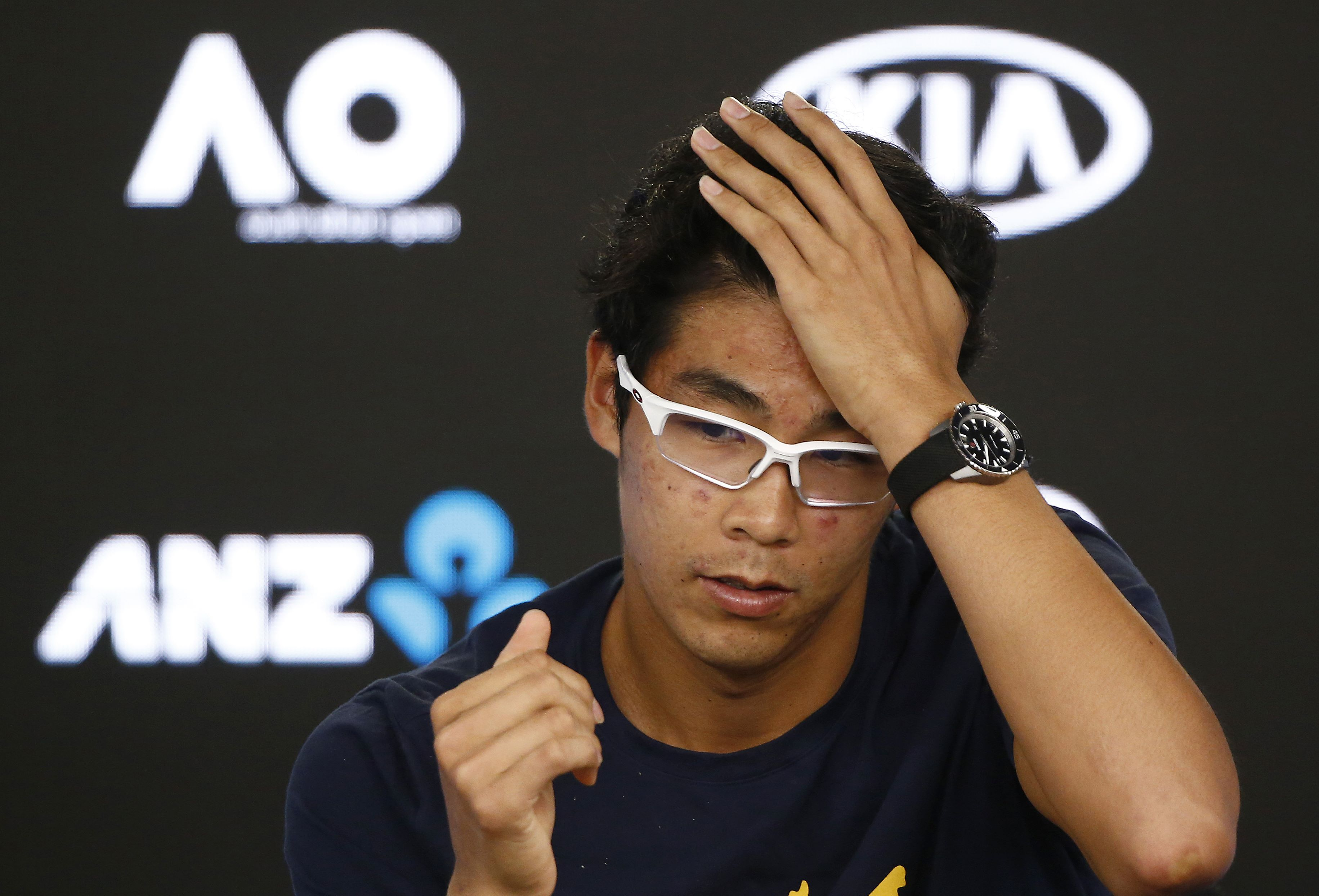 Chung hopes Melbourne run sparks Korean tennis boom