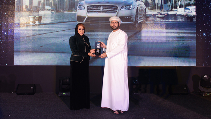 Lincoln Continental wins coveted luxury award