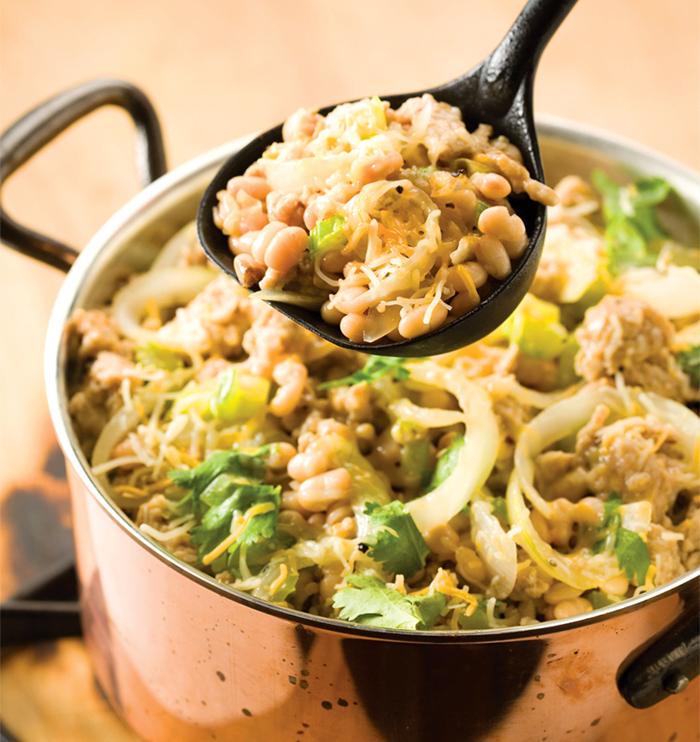 White bean chilli recipe will warm the heart
