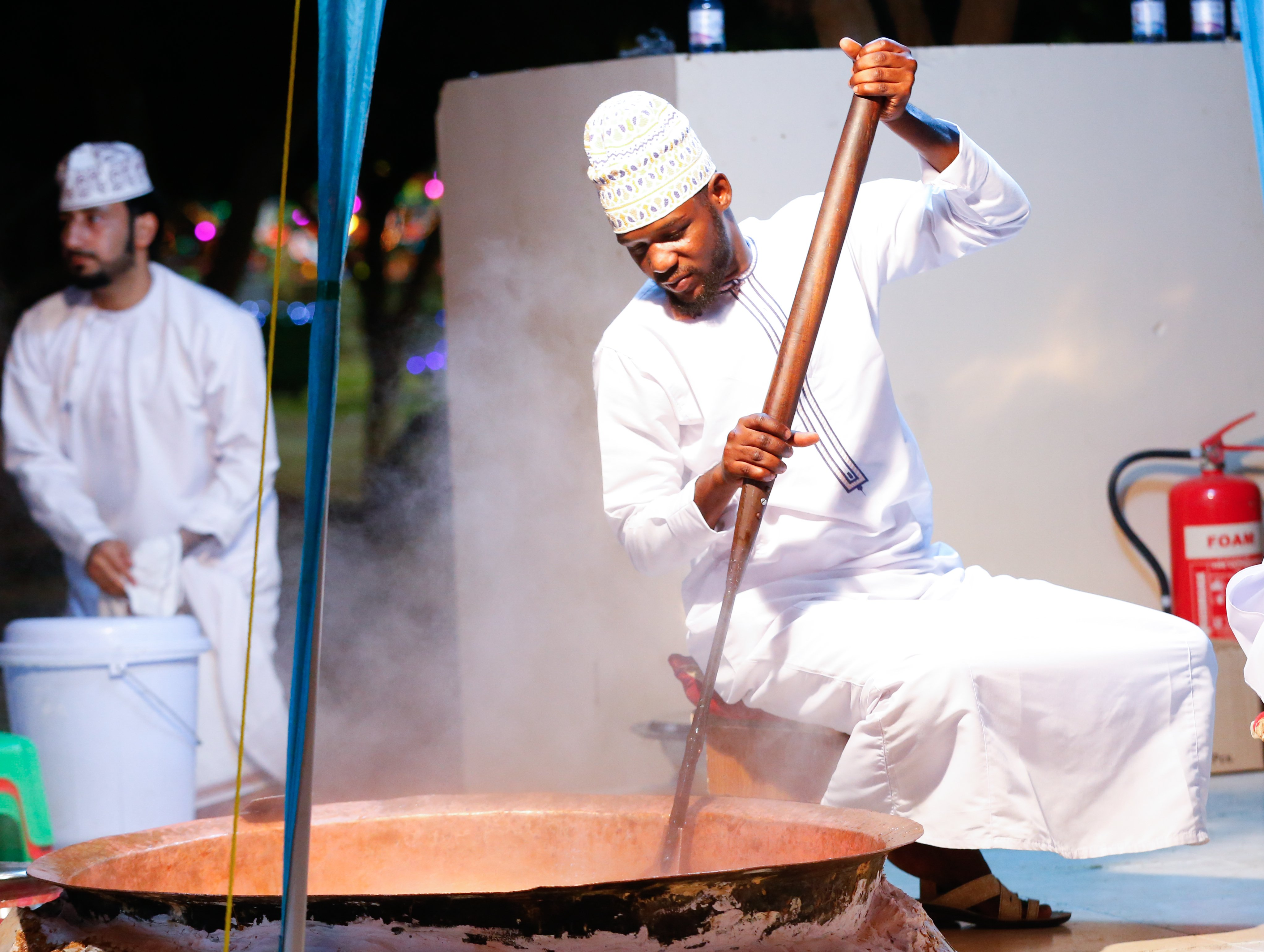 The art of Halwa-making at Muscat Festival