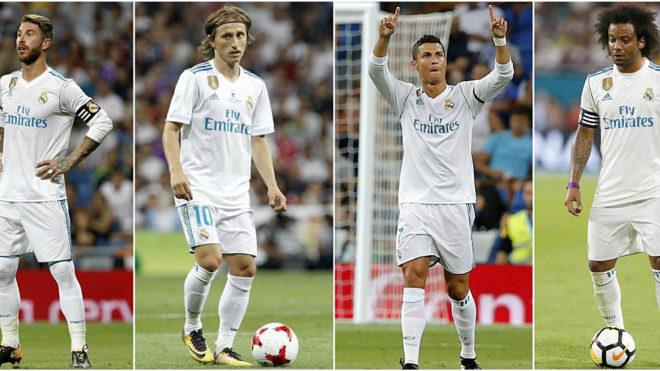 ليكيب: ريال مدريد يسيطر على تشكيلة 2017