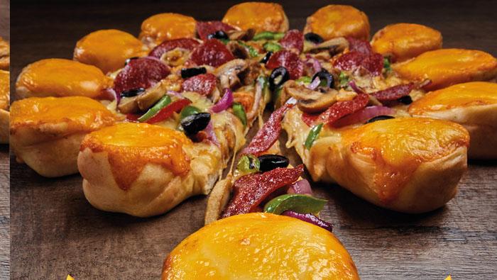 Pizza Hut introduces 'Eat it Backwards' Big Bites Pizzas