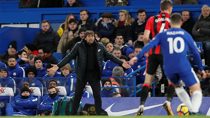 Football: Chelsea could miss out on Champions League place, Conte