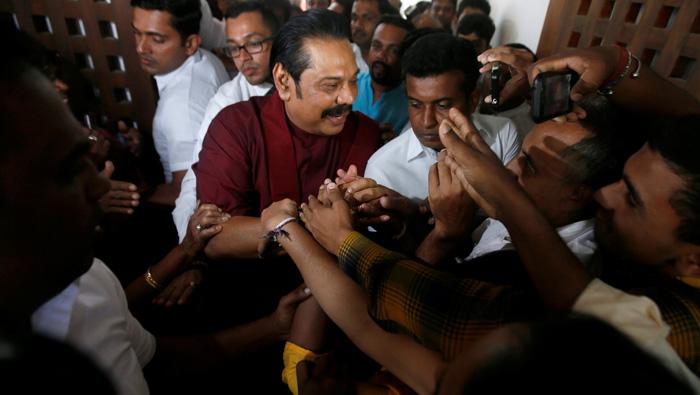 Sri Lanka's ex-leader Rajapaksa seeks fresh elections