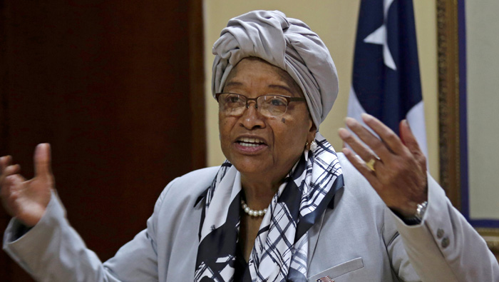 Liberia's Ellen Sirleaf wins Mo Ibrahim leadership prize