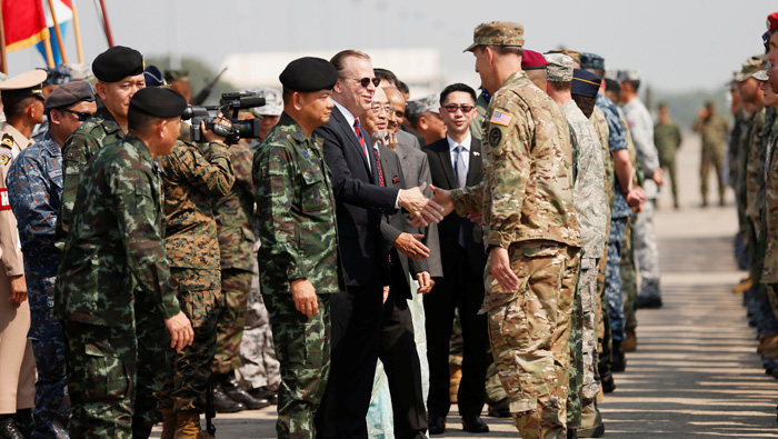 US force joins Thai military exercise despite controversy