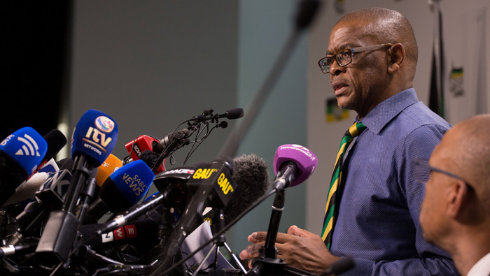 ANC tells Zuma to step down as South African president