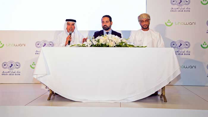 Oman Arab Bank and Thawani Technologies ink pact