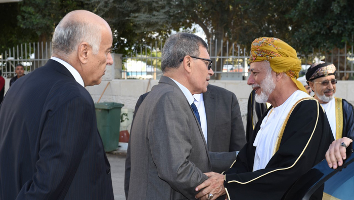Oman Foreign Minister in Palestine for discussions