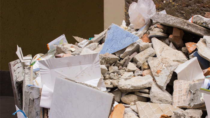 Here is what dumping construction debris could cost you