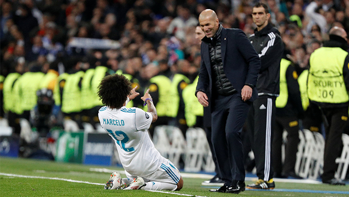 Football: Zidane strikes back to win tactical battle with PSG