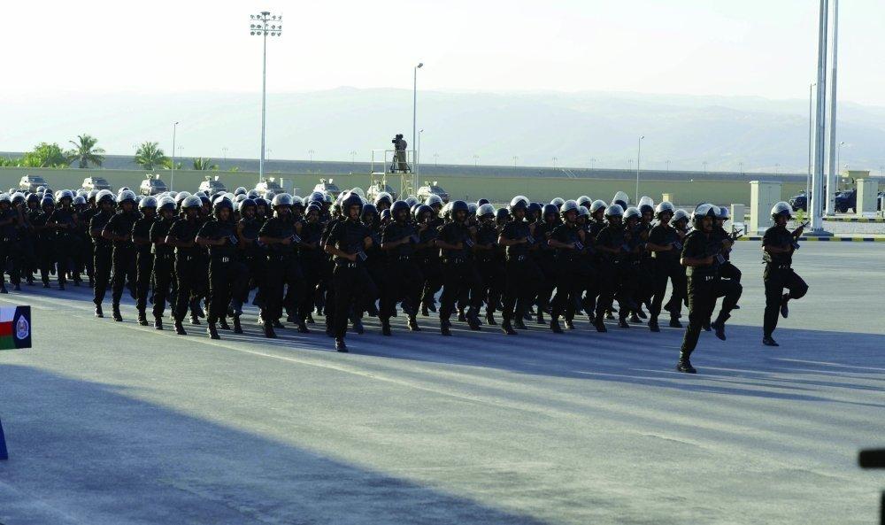شرطة عمان السلطانية والقوة الخاصة الأمريكية تنفذان تمرينا مشتركا