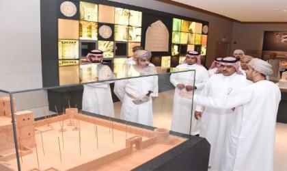 وفد الأمانة العامة لمجلس الوزراء السعودي يزور المتحف الوطني
