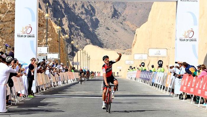 Greg Van Avermaet wins Tour of Oman third stage