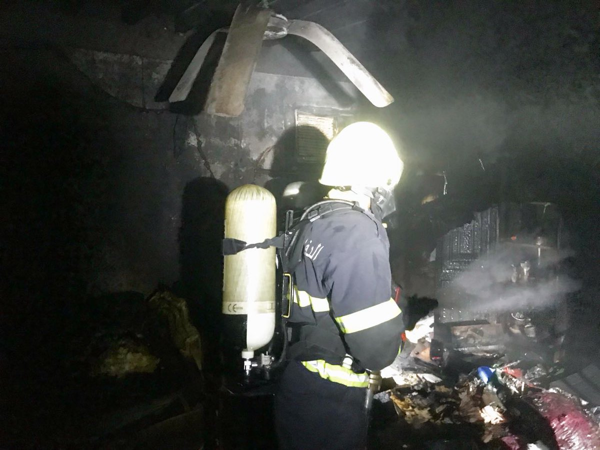 In pictures: Firefighting teams in Oman douse three house fires in one day
