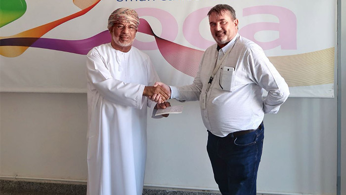 Oman Cancer Association receives a donation of OMR2,500