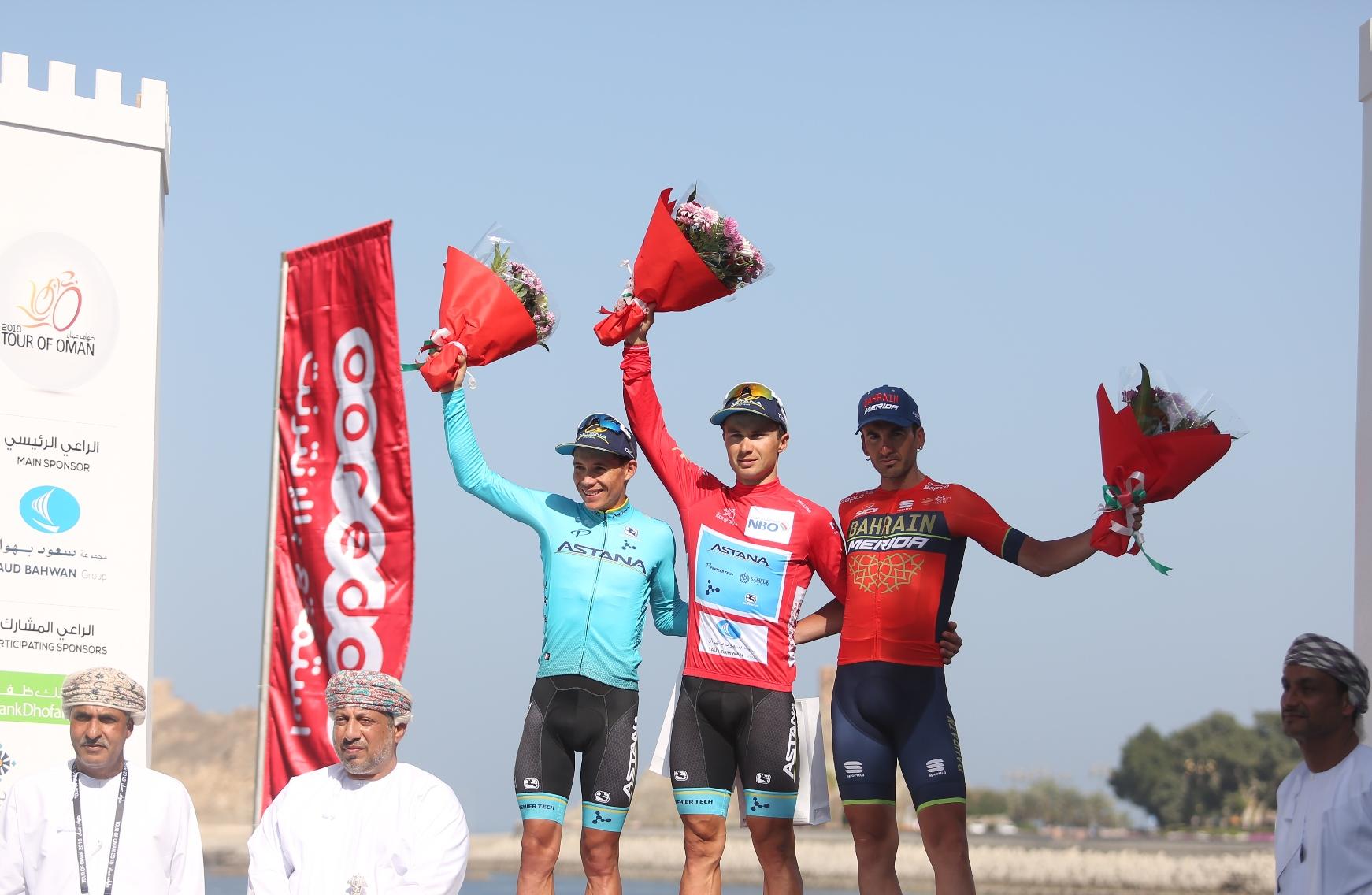 Cycling: Alexey Lutsenko wins 2018 Tour of Oman