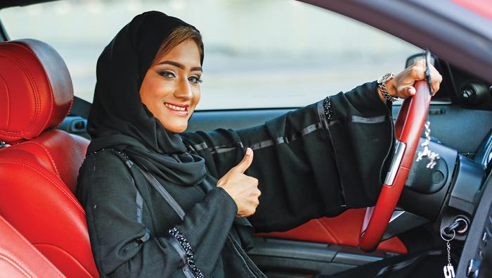 Meet Oman's first female drag racer