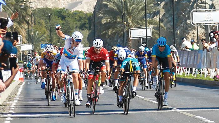 Lutsenko plans to return to defend Tour of Oman title