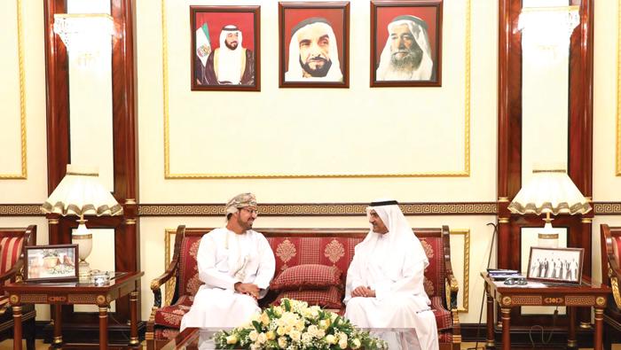 Fujairah ruler receive new Omani envoy