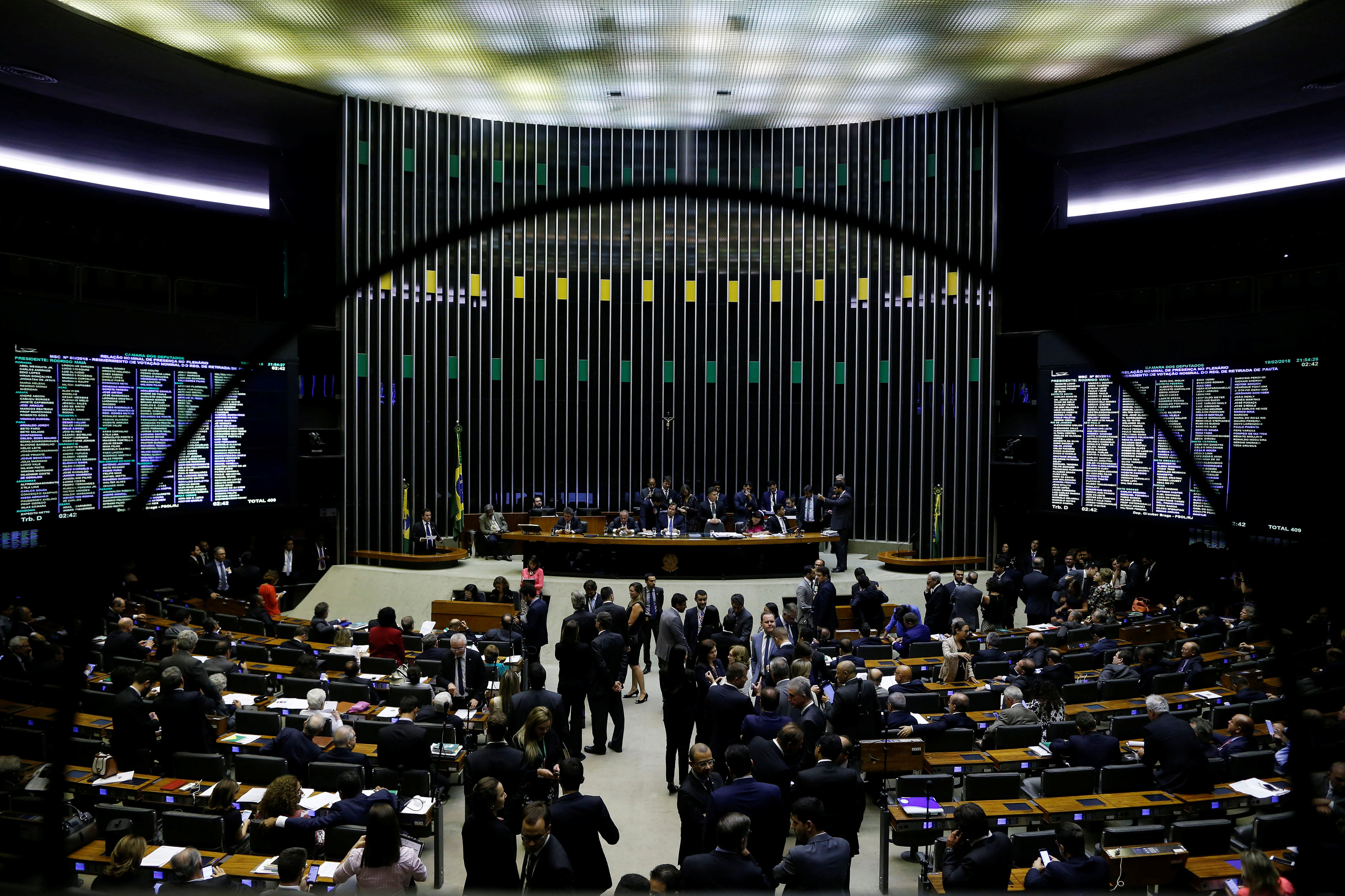 Brazil: Security intervention in Rio okayed