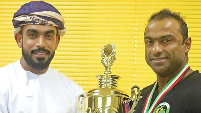 Omani bodybuilding champion wins gold in Spain