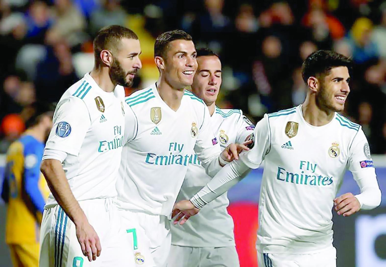 تطور مذهل في سجل «ريال مدريد»التهديفي
