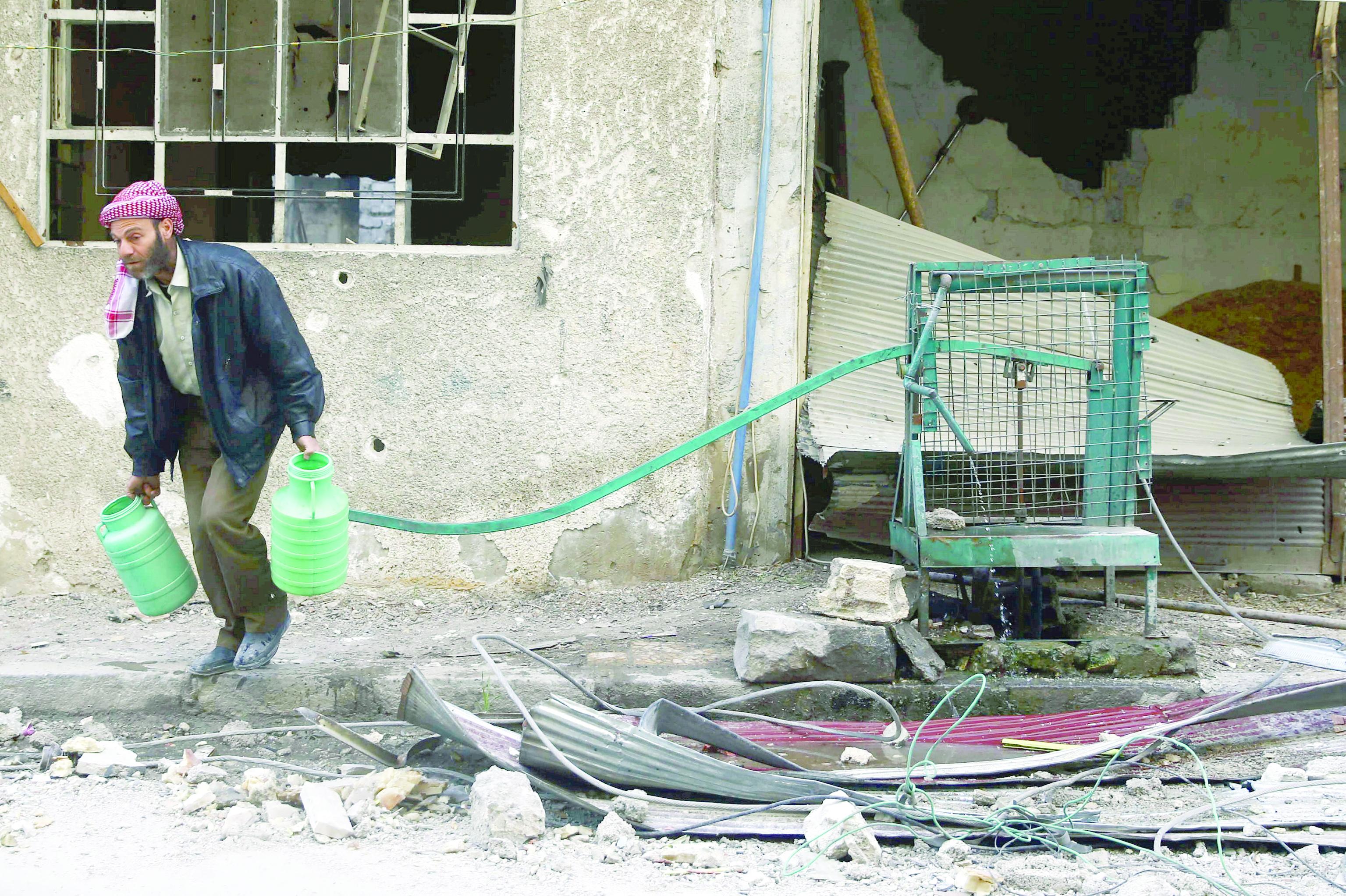 المسلحون يستفزون دمشق