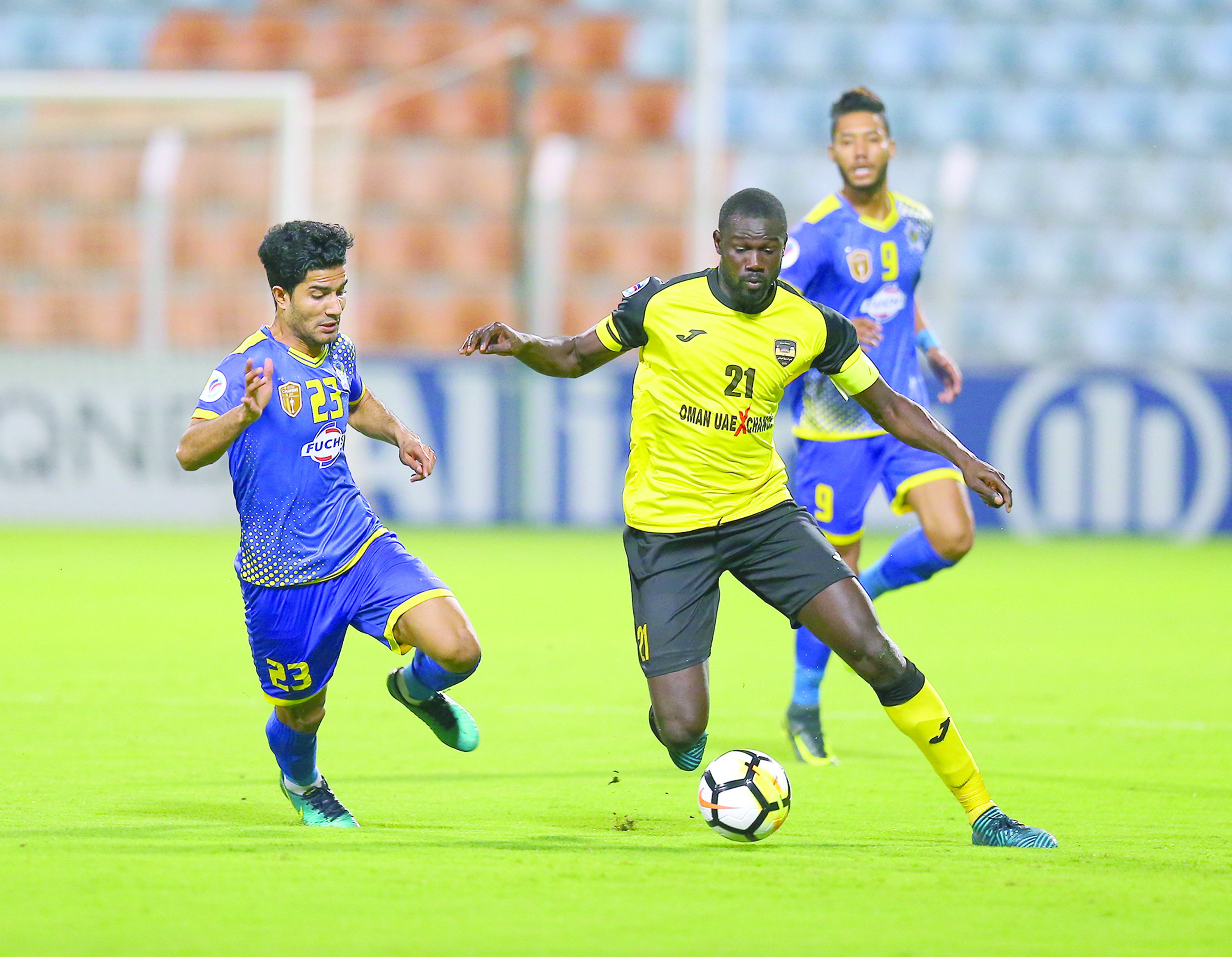 «أصفر الباطنة»يواصل الانهيارخسر المباراة الثانية في كأس الاتحاد الآسيوي