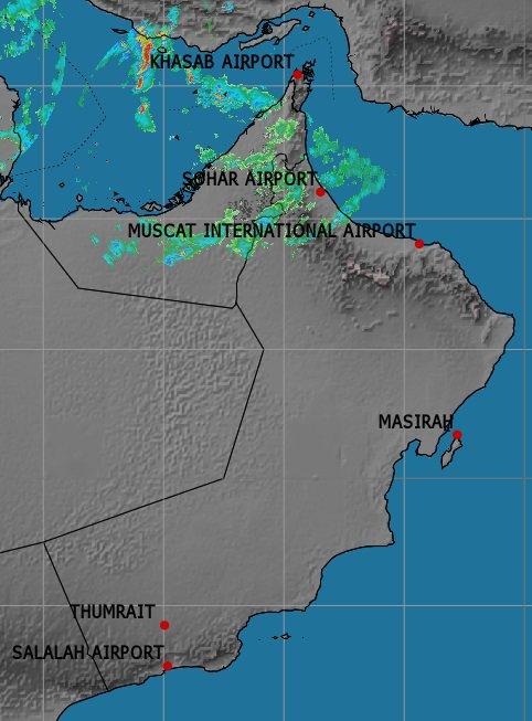 الأرصاد: فرص لهطول أمطار متفاوتة الغزارة على هذه المحافظات