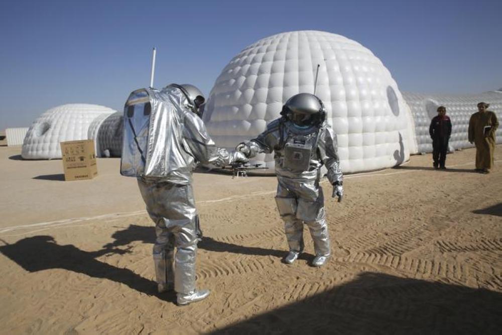 اختتام تجارب محاكاة العيش على المريخ اليوم