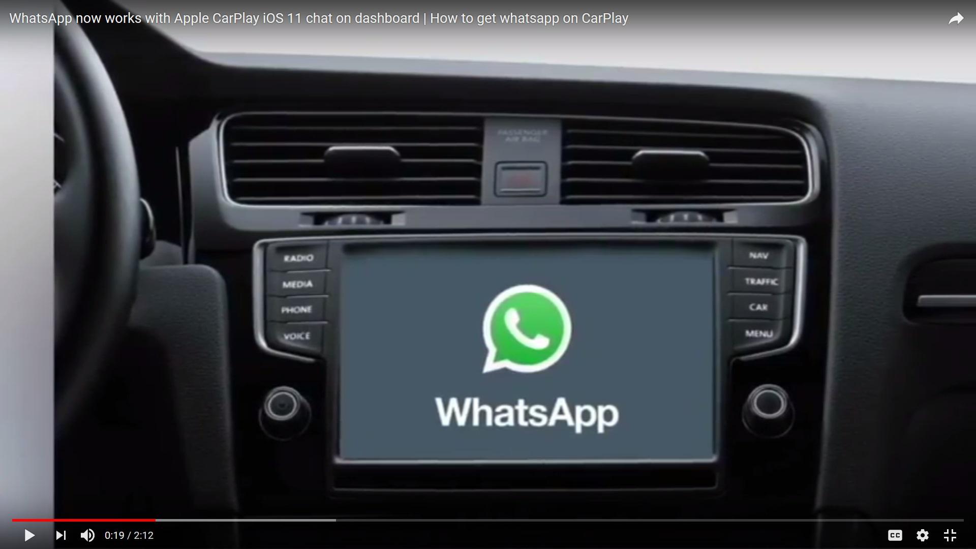 """بالفيديو.. تطبيق خاص من """"واتساب"""" للسيارات"""