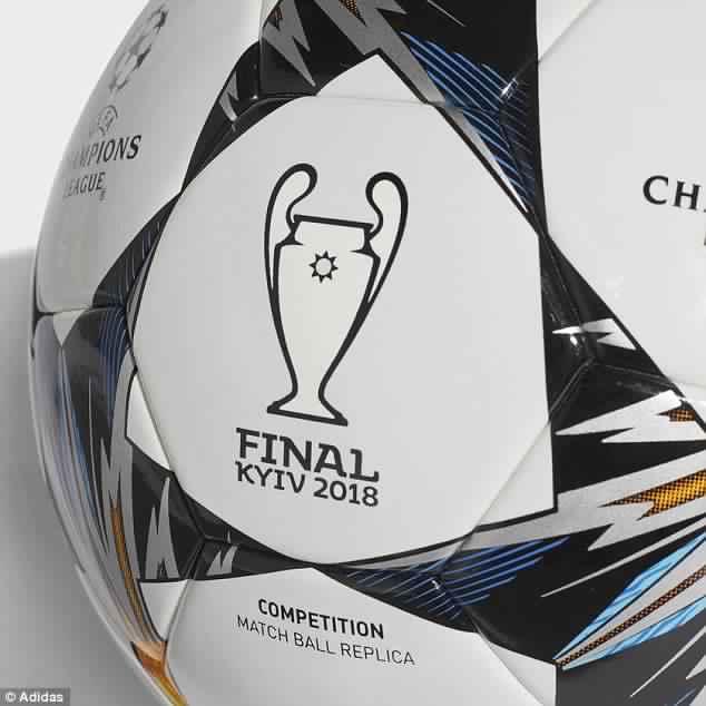 الكشف عن كرة نهائي دوري أبطال أوروبا 2018