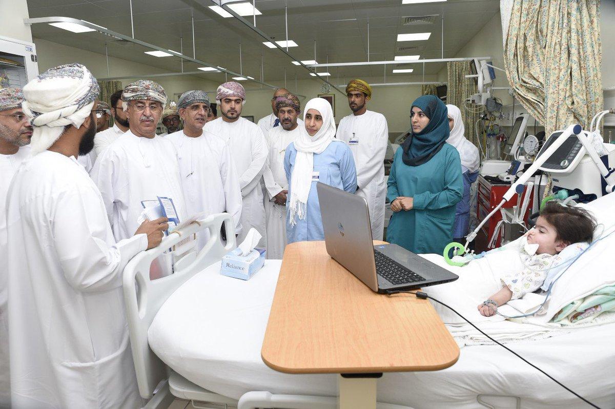 المستشفى السلطاني يتميز بكادر عُماني بمستويات عالية