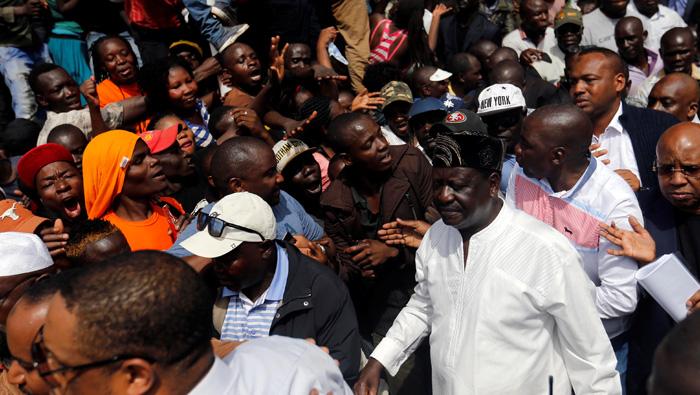 Kenya police briefly detain MP over Odinga 'swearing in'