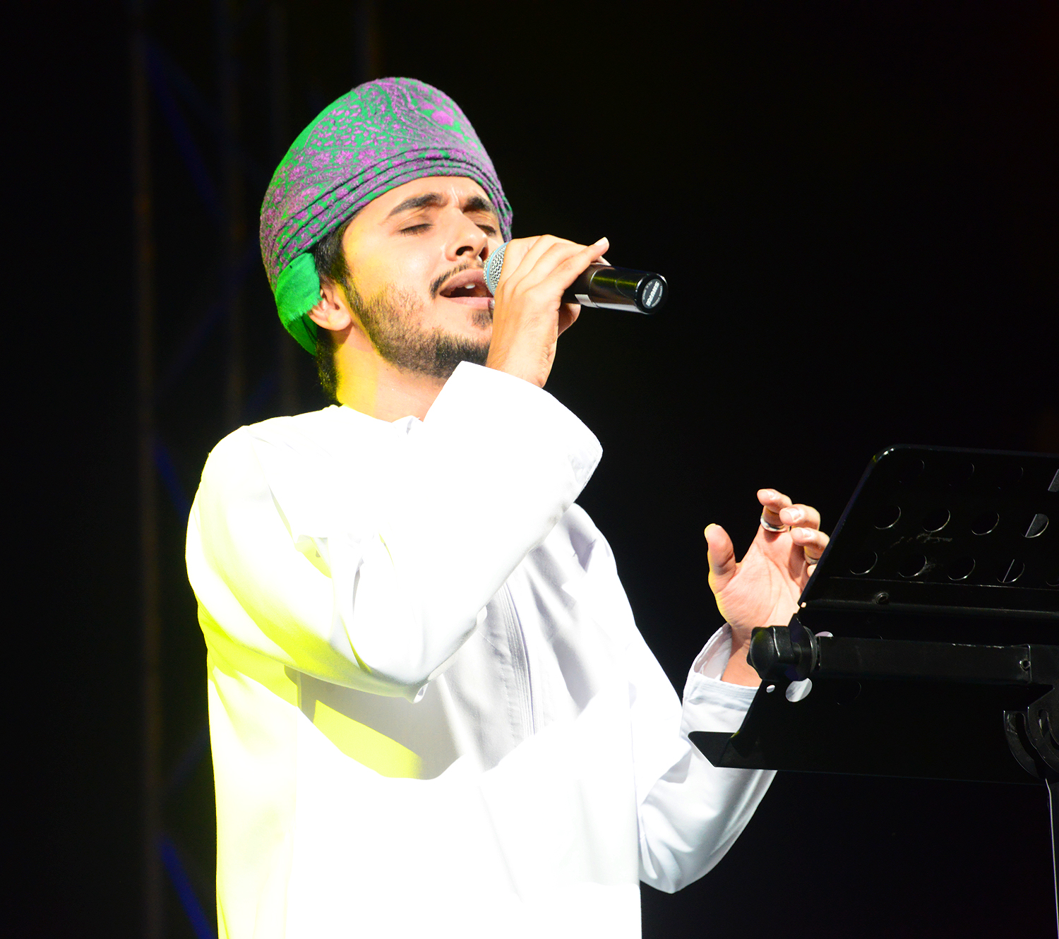 Singer Haitham Rafi takes audience by storm at Muscat Festival