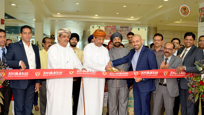 Joyalukkas opens showroom in Salalah