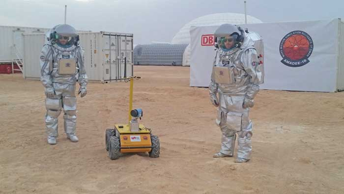 Oman, first stop on man's way to Mars