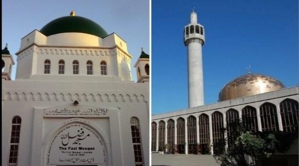 مسجدان في لندن على قائمة التراث البريطاني