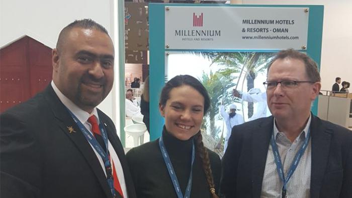 Millennium Resort Mussanah represents the Sultanate at ITB Berlin 2018