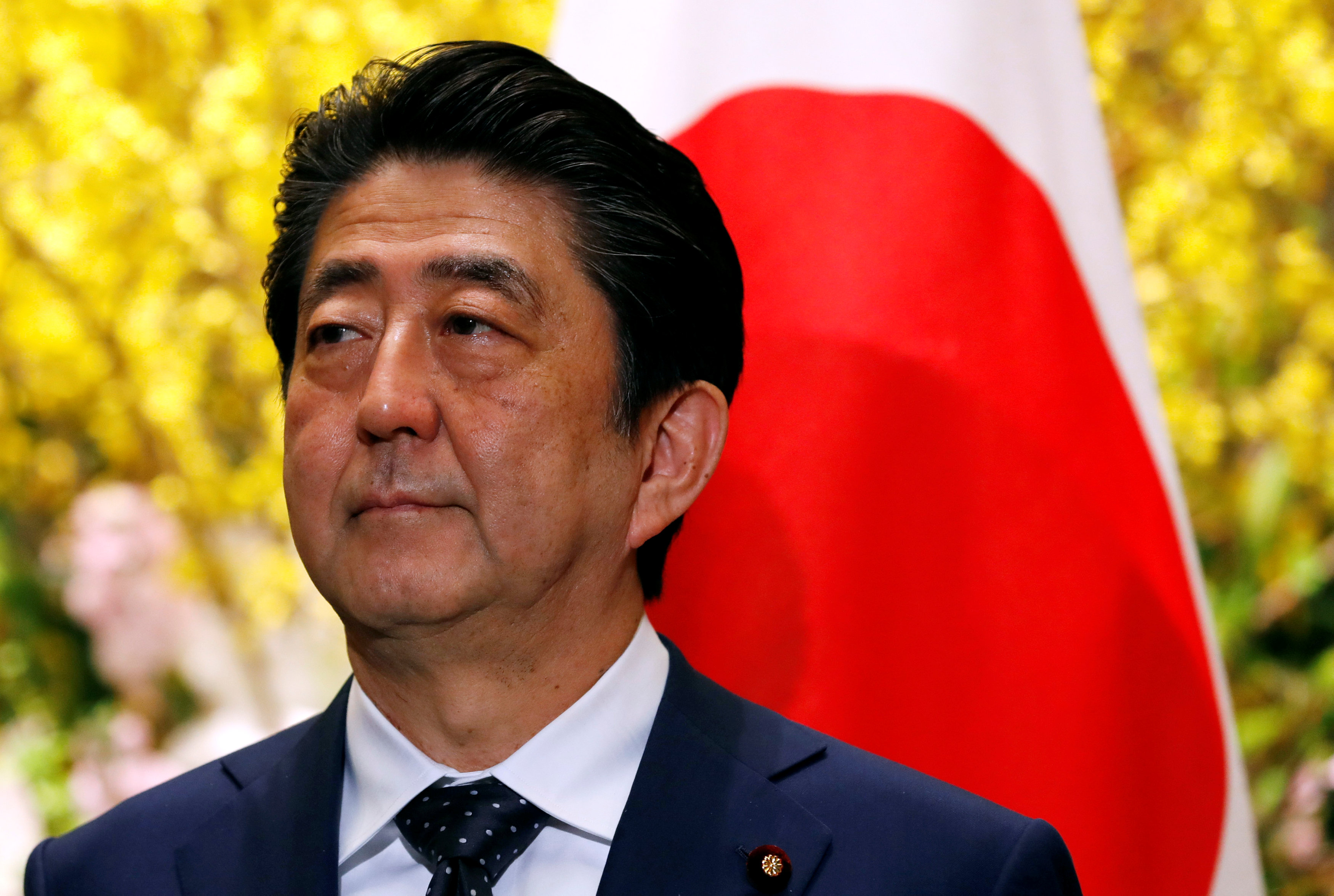 Abe denies involvement by him, wife in discount land sale