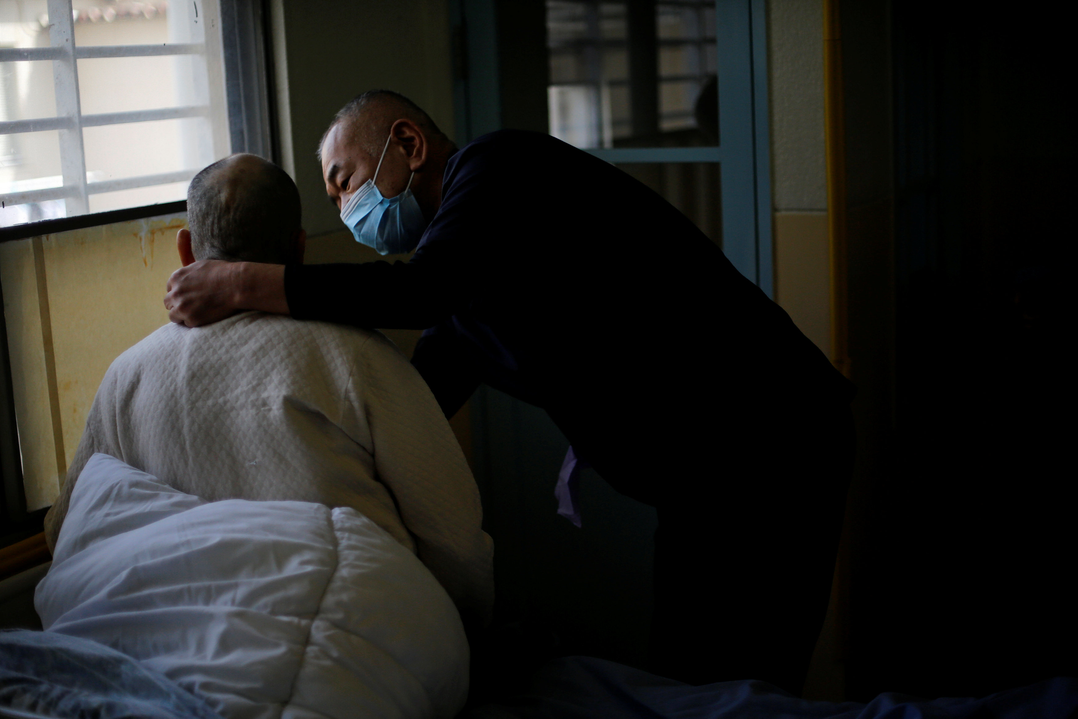 Prisons cope with swelling ranks of elderly inmates in ageing Japan