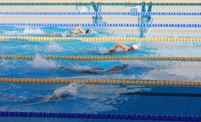 Nautilus Invitational Swim Meet attracts over 330 swimmers