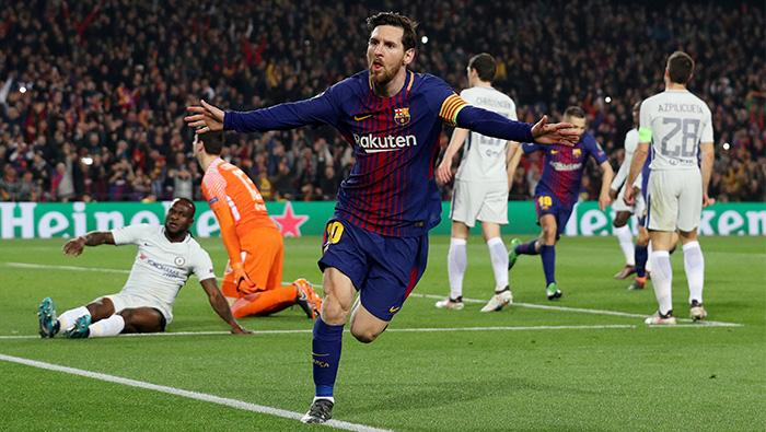 Football: Majestic Messi helps Barcelona crush Chelsea