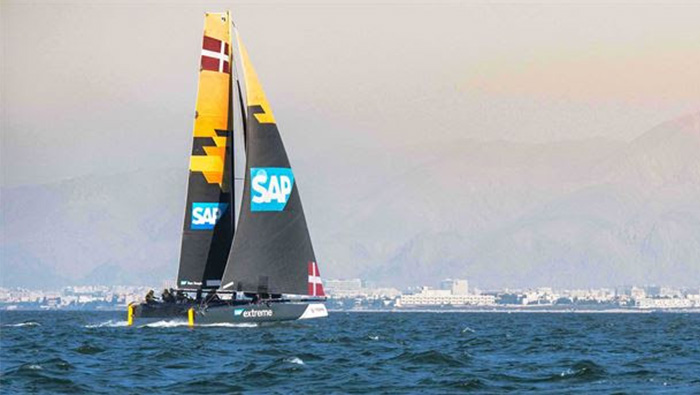 How technology is helping the Oman Extreme Sailing Series