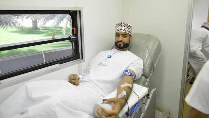 Haya Water organises blood donation campaign