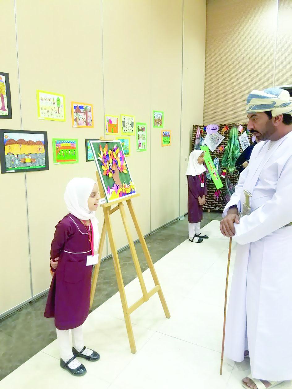 «بصمة فن» معرض فني لطلاب العوابي