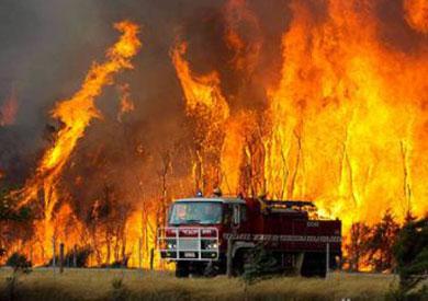 إجلاء الآلاف جراء حرائق الغابات جنوب استراليا