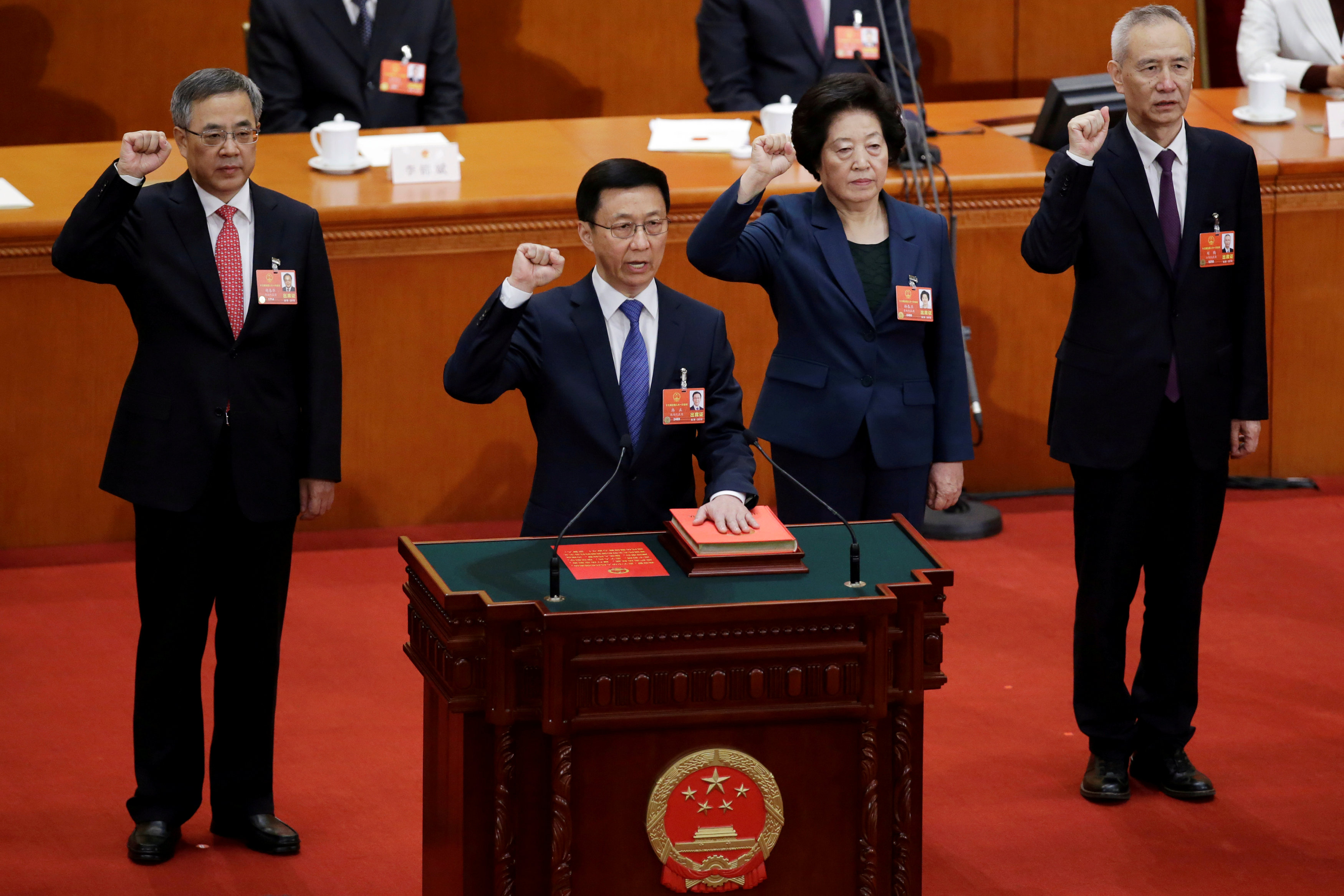 China forms new economic team as Xi Jinping kicks off second term
